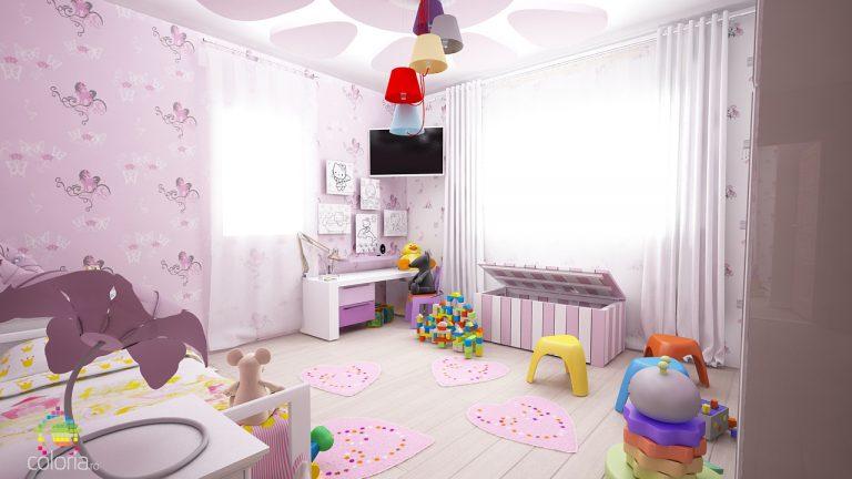 Design Interior - Dormitor tineri