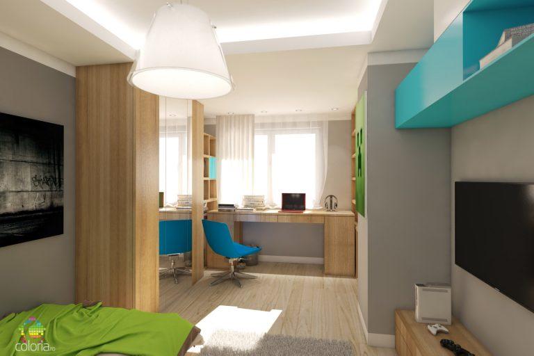 Proiectare 3D Constanta - Design Dormitor Adolescenti