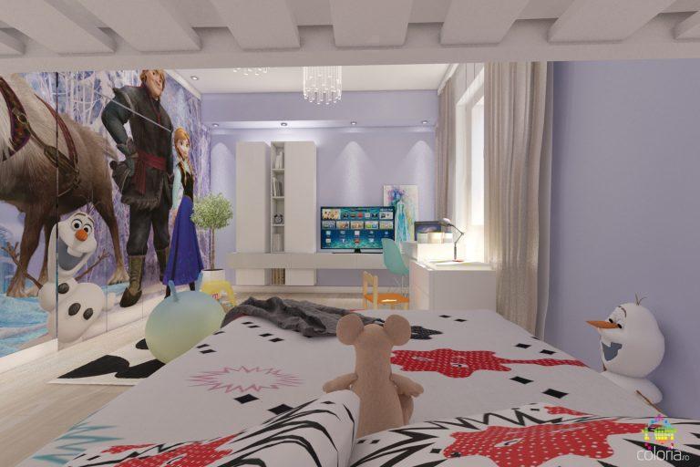 Proiectare 3D Constanta - Design Dormitor tineri