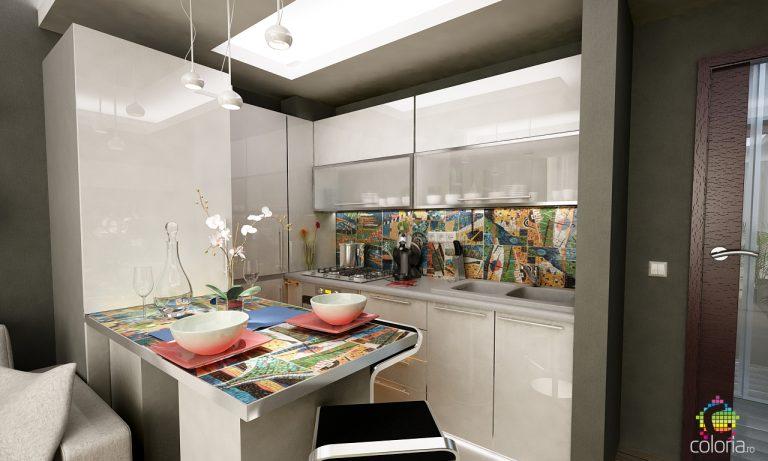 Design interior bucatarie Constanta