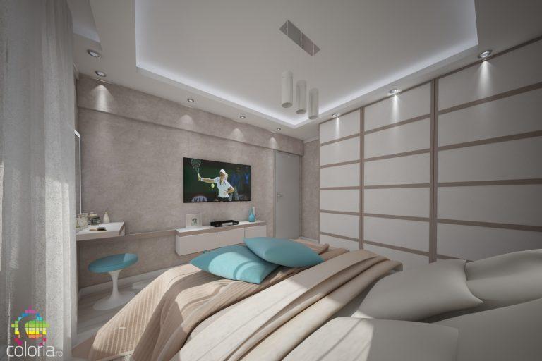 Design Interior dormitor Constanta