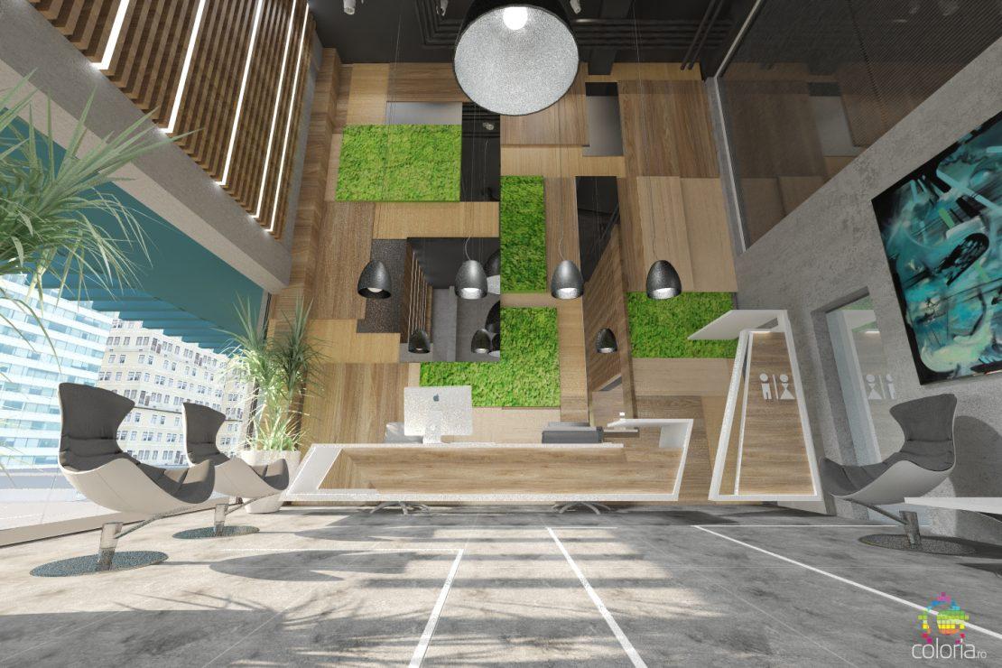 Design interior - Spatii publice