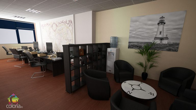 Design interior spatii publice - Birouri